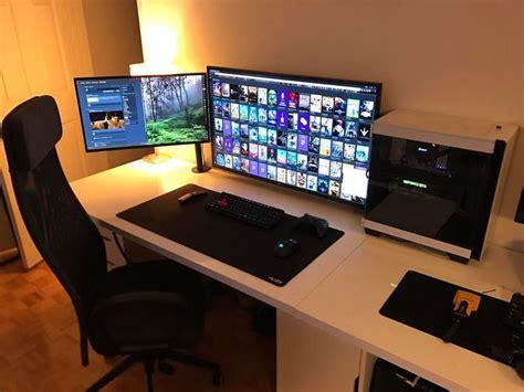 pc gaming desk reddit 235 best desktop setup ideas images on gaming