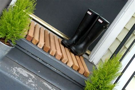 Wood Doormat by Welcome Mats For Gorgeous Home Entry Door Founterior