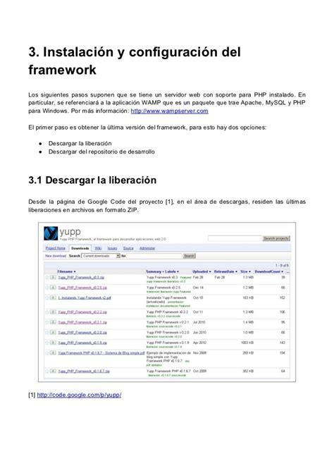 tutorial php framework tutorial manos a la obra con yupp php framework
