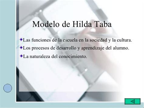 Ventajas Modelo Curricular De Hilda Taba Hilda Taba M