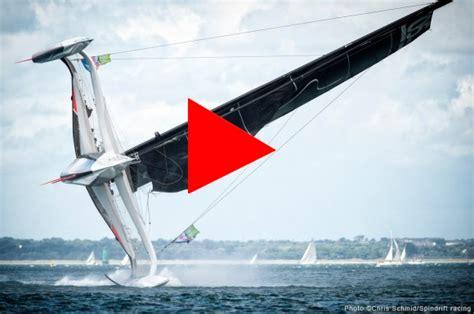 catamaran capsize racing trimaran spindrift capsizes trimaran for sale ny