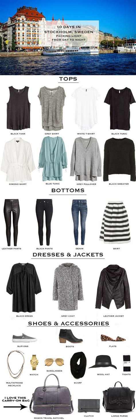 packing light for travel best 25 stockholm style ideas on