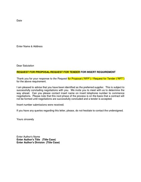 rfp award letter template 10 best images of construction bid acceptance letter bid