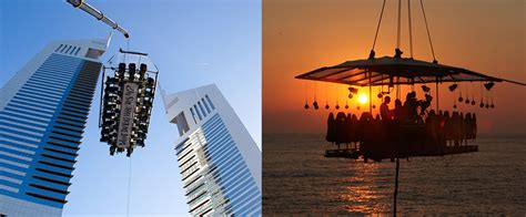 Dinner In The Sky Bathroom by Taking Dinner With A View To A Whole New Level What S