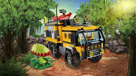 Lego City 60160 Jungle Mobile Lab 60160 jungle mobile lab lego 174 city products and sets lego city lego