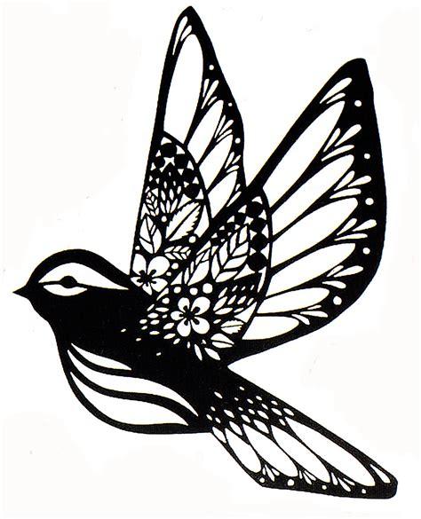 An Owl Papercraft At Bandung - sparrow paper cut fx paper cut stencil silhouette