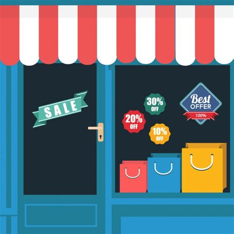 store layout vector store background design vector free download