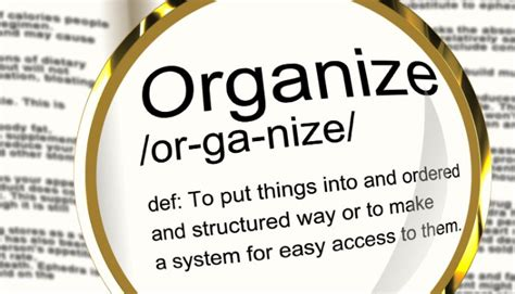 organizational skills one strategy you need to have in your nutrition business