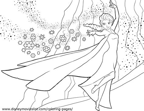 Frozen Coloring Pages Free Large Images Coloring Page Frozen