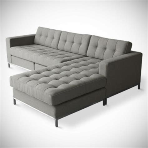 Grey Tufted Sectional Sofa Grey Tufted Sectional Home