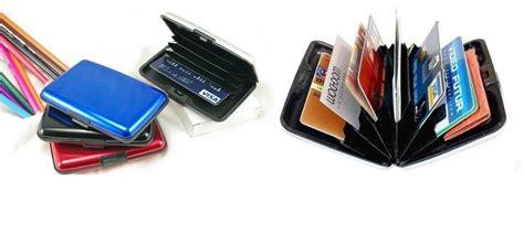 Sale Dompet Kartu Alumunium Anti Air Card Caddy 1 jual aluminium card holder walet dompet baru perlengkapan kantor furniture dan atk