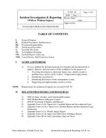 best photos of safety incident investigation template