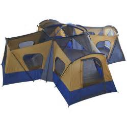 tents for room new ozark trail base c 14 person cabin tent 4 rooms 20