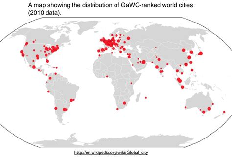 world cities on a map mapping global cities geocurrents