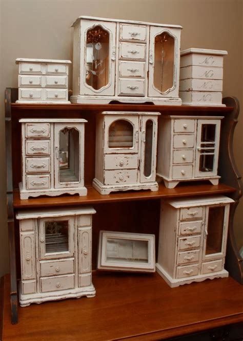 shabby chic jewelry cabinet shabby chic upcycled distressed jewelry armoire jewelry