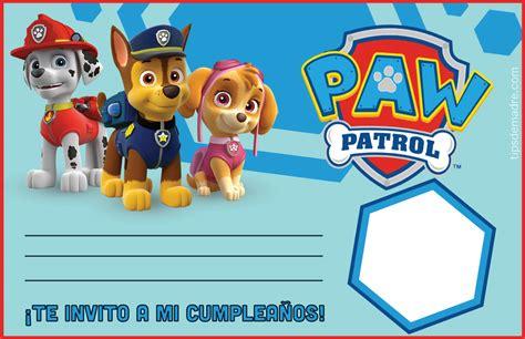 patrulla canina misin canina 844884405x etiquetas para fiesta patrulla canina