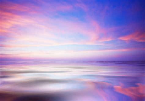 Modern Contemporary Kitchen Design scenic purple sky lake