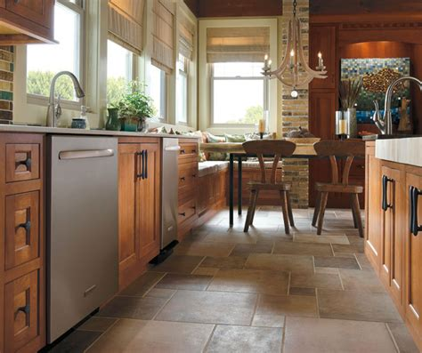 rustic cherry kitchen cabinets home rustic kitchen with cherry wood cabinets omega