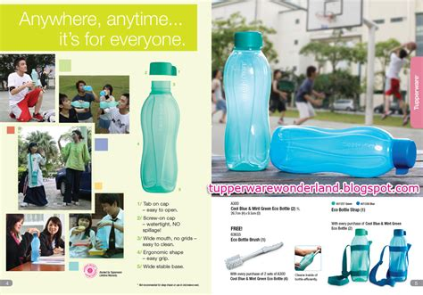 Bio Degrades Into Plain Water by Tupperware Eco Bottle By Tupperware