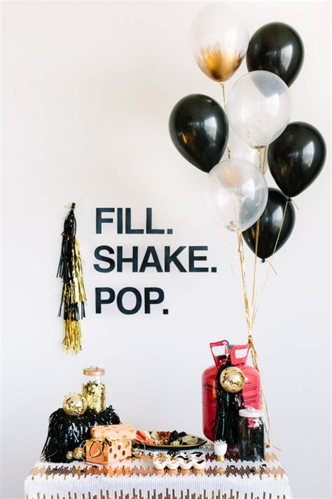 Decorate For New Years by New Years Decorating With Balloons Inspiration Diy