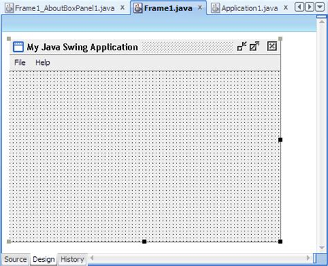 java swing overview oracle jdeveloper 11g release 2 tutorials build a java