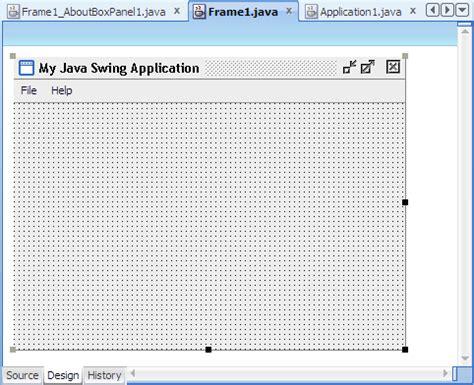 java swing application exle oracle jdeveloper 11g release 2 tutorials build a java