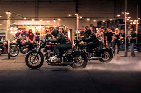 Motorrad Halstuch Triumph by Bobber Triumph Motorcycles