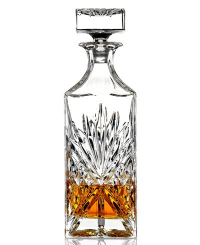 whiskey barware godinger barware dublin whiskey decanter all glassware drinkware dining entertaining