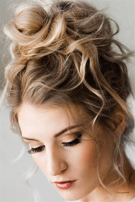 bridal hairstyles 30 enchanting wedding updos e29da4 wedding updos high bun closen