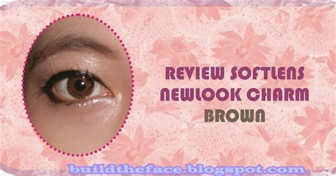 Softlens Newlook Playful Charm build the 176 176 review softlens newlook charm in brown