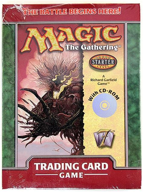 Magic The Gathering Black Starter Deck by Magic The Gathering 7th Edition 2 Player Starter Deck With