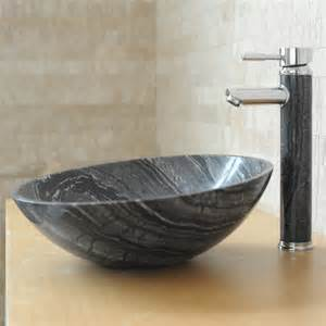 vasque en ronde maryna marbre gris indoor by