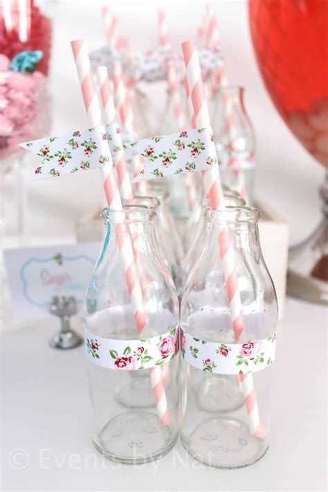 shabby chic baby shower supplies floral shabby chic ideas for by nat via baby