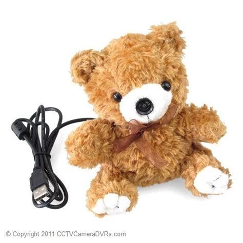 teddy bear hidden cameras teddy bear 450tvl hidden nanny camera