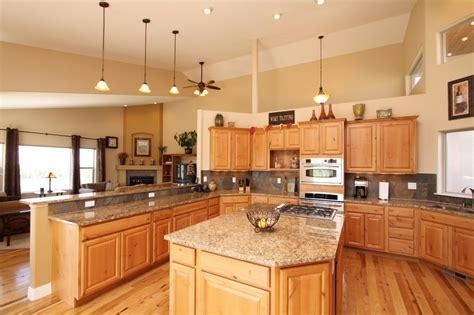 rta hickory kitchen cabinets
