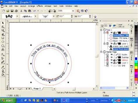 how to curve text in coreldraw x6 corelde şekilli yazı yazma doovi