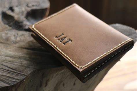 Mens Handmade Leather Wallets - wallet mens custom leather wallets leather by popularmiles