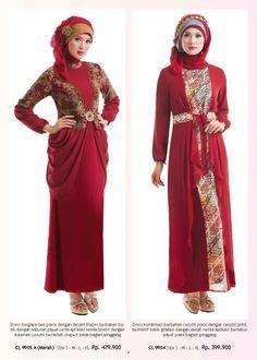 Baju Gamis Ethica Kagumi 14 Merah baju lebaran anak wanita cantik berbaju muslim gamis