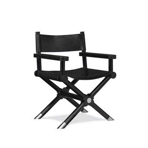 ralph leather directors chair director s chair in black finish ralphlaurenhome