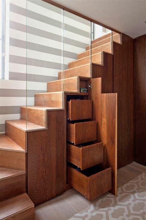 treppe für dachboden unter treppe idee