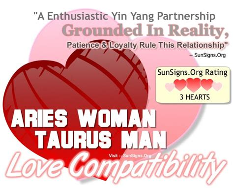 taurus and aries in bed aries woman and taurus man a yin yang relationship sun signs