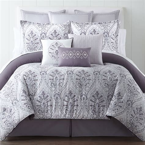 penneys comforters buy studio micro grid 4 pc comforter set bonus coverlet