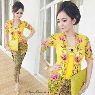 Baju Anak Kostum Setelan Kebaya Brokat Dan Rok Modern Bahan Halus 80 model kebaya modern batik terpopuler 2018 model baju