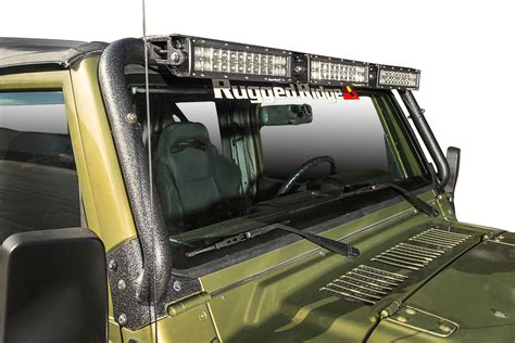 Rugged Ridge Light Bar rugged ridge windshield light bar free shipping