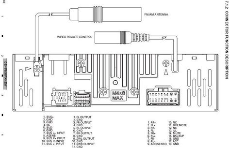 pioneer deh 2800mp wiring diagram efcaviation