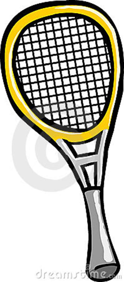 tennis racket stock photo image