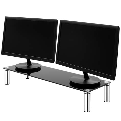 large monitor screen riser shelf computer imac
