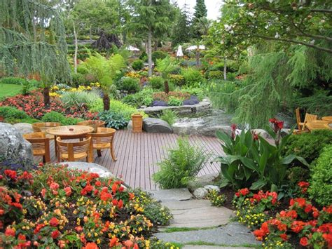 Pretty Backyard Ideas Beautiful Backyard Garden In Most Beautiful Gardens Gardening Ideas Tips