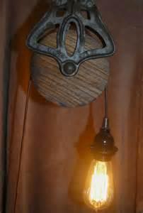 Make Pendant Light A Vintage Pendant Edison Pulley Light Edison Bulbs