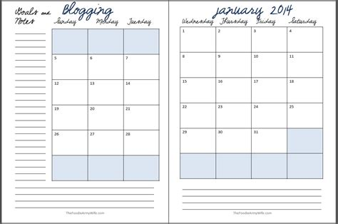 cafepress shop templates 2014 blogging planner pages printable cosmopolitan